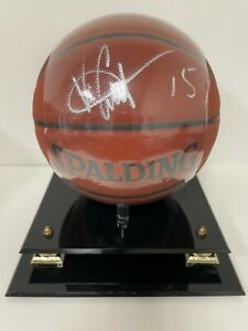 Vince Carter signed autographed basketball Raptors Steiner COA NEW sealed auto