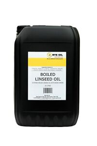 Boiled Linseed Oil 25 litre 25L Double Boiled (not 20l)