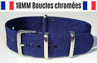 ★ 18MM ★ Bracelet Montre Watch Band Strap Nylon Nato Otan Militaire Army Bond