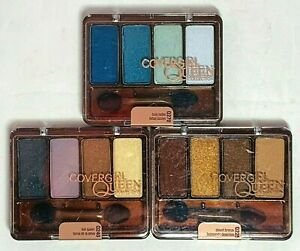 CoverGirl Queen Collection Eyeshadow Quads - Choose Your Shade!