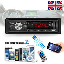 Car Radio Bluetooth Stereo Head Unit Music MP3 Player /FM/USB/SD/MMC New In Dash