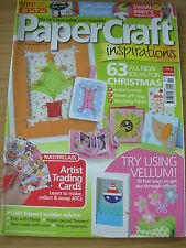 PAPERCRAFT INSPIRATIONS CRAFT MAGAZINE NOV 2007 63 CHRISTMAS IDEAS  HALLOWEEN
