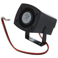 5x Alarma Sonora Electrónico Zumbador de Alarma Negro DC 3-24V 85dB 23 Pcs 12mm