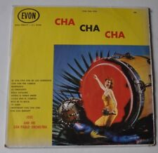 JOSE and his SAN PAULO Orchestra LP Record CHA CHA CHA Cheesecake Cover