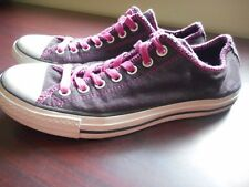CONVERSE ALL STAR WOMENS SNEAKER SHOE SIZE 10.5 PURPLE FREE SHIP