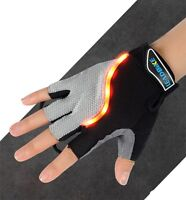 LeadBike LED Turn Signal Bike Lights In a Cycling Gloves Turn Signals