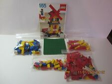 Vintage Lego Universal Building Set #555 With Instruction Book 1981