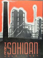 July 1937 - Standard Oil Company Of Ohio Employee Magazine Art Deco Cover Fab