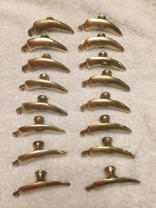 "3"" CHILI PEPPER Cabinet Knobs~Brass~Garden~Drawer Pull~Red Hot"