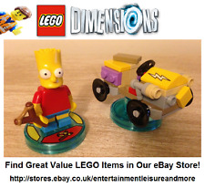 Genuine LEGO Dimensions The Simpsons Bart Fun Pack 71211 - FULLY COMPLETE -