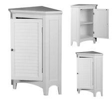 Bathroom Cabinet Organizer Corner Floor Standing Storage Cupboard Kitchen Pantry