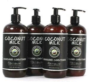 4 Ct Renpure Professional 16 Oz Extra Virgin Coconut Milk Nourishing Conditioner