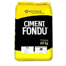 HIGH TEMP FIRE CEMENT CIMENT FONDU, ALUMINA refractory MORTAR 25KG 24hr delivery
