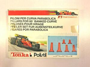 POLISTIL POLICAR PILONI  pylones per curva parabolica courbe surélévé 1:32