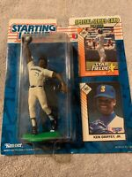 1993 KEN GRIFFEY JR Seattle Mariners EX/NM * FREE s/h* Starting Lineup + 2 cards