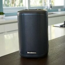 Brookstone Big Blue 100 Small Bluetooth & Wi-Fi Speaker With Chromecast Built-In