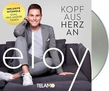 """Eloy de Jong """"kopf aus herz an"""" CD NEU Album 2018"""
