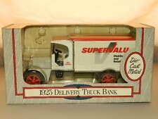 1925 Supervalu Delivery Truck Die Cast Metal Bank 1:30 Scale Ertl NIB