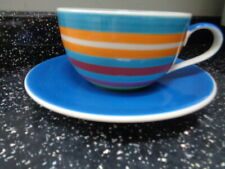More details for whittard of chelsea large stripe cup and saucer