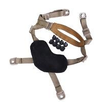 Tactical MICH ACH Helmet Head-Loc Retention X-Nape Military Airsoft Paintball DE