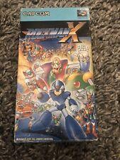 Nintendo Super Famicom Rockman X Megaman Japan SFC SNES w/box