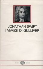 I VIAGGI DI GULLIVER JONATHAN SWIFT L.S. MAZZOLANI  1963 EINAUDI (XA645)