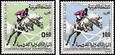 Timbres Chevaux Sports Maroc 529/30 * lot 15283