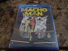 WWE The Randy Savage Story Macho Man Blu-ray New/Sealed Wresling WWF