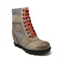 Sorel Lexie Wedge Boots in Quarry Multiple Womens Sizes