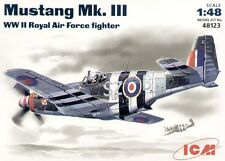 ICM 48123 - 1:48 Mustang MK III WWII RAF fighter