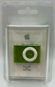 NEW Apple iPod Shuffle 2nd Generation 2GB - GREEN - MB686LL/A A1204 RARE SEALED