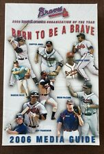 2006 Atlanta Braves Baseball MLB Media GUIDE