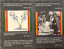 Jah Love Muzik Soundsystem Reggae / Twelve Tribes Of Israel Handbills 1970s/ 80s