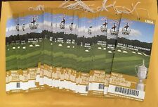 Lot Of (2)2009 U.S. Open Thurs June 18  Bethpage State Park Unused Tickets