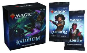 MTG Kaldheim Prerelease Kit English - Plus 2 free Kaldheim Boosters