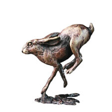 More details for bronze hare running - butler & peach 2042.