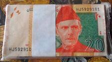 PAKISTAN 2015 Jinnah 20 Rs  - GEM UNC & MINT