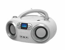 OUTMARK BAIO TRAGBARER CD-PLAYER CD-RADIO MIT BLUETOOTH USB  WHITE  KINDER