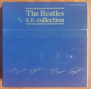 7/33 : THE BEATLES : EP COLLECTION (BOX SET) (JAPAN) (RED VINYL)