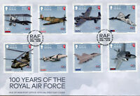 Isle of Man IOM 2018 FDC RAF Royal Air Force Spitfire 8v Cover Aviation Stamps