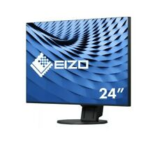 "Eizo FlexScan 23.8"" 1920 x 1080 5ms VGA/HDMI/DVI/DP IPS LED Monitor (EV2451-BK)"