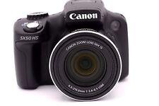 Canon PowerShot SX50 HS 12.1 MP Digital Camera 50x Optical Zoom Lens Black
