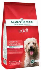 Arden Grange Adult With Fresh Chicken & Rice 12kg *Damage To Bag 11.4kg*