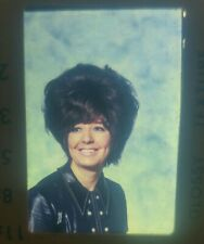VTG Original Photo Slide Beautiful Woman Sexy Beehive Hair 1960's Color