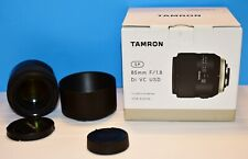 ☆☆USED Tamron SP F016 85mm F/1.8 VC Di USD Lens For Nikon