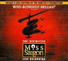 Miss Saigon - 25th Anniversary 2 CD Musical Cast Recordi 0602547023018