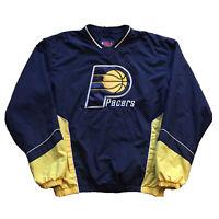 Vintage 90s Indiana Pacers Windbreaker Mens Medium NBA Basketball Streetwear OG