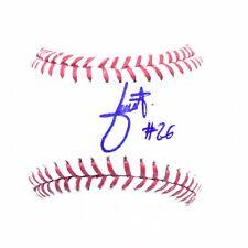Julio Urias RARE Full Signed Auto OMLB Baseball PSA DNA ROOKIEBALL Dodgers WS