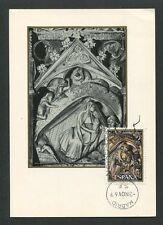 SPAIN MK 1969 WEIHNACHTEN CHRISTMAS NAVIDAD NOEL CARTE MAXIMUM CARD MC CM d8597