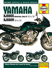 2145 Haynes Yamaha XJ600S (Diversion, Seca II) & XJ600N Fours (1992-2003) Manual